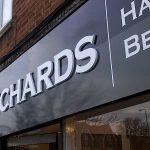 3D Cut Lettering | Dann Richards Hair Cambridge