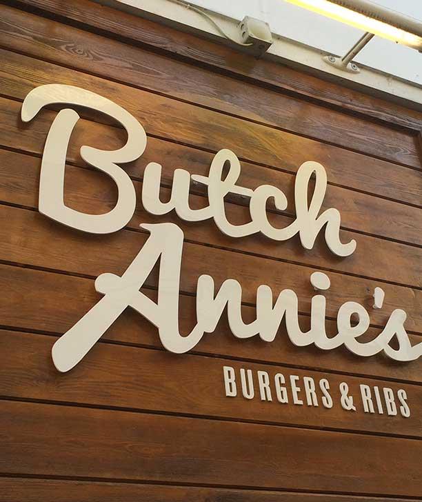Butch Annie's – Logo Sign