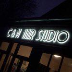 Illuminated Letters | C&M Hair Studio