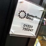 Outdoor Acrylic Sign | Barker Ross Group