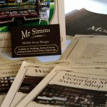 Brochures & Business Cards   Mr Simms Sweet Shoppe