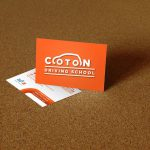 Business Card   Coton Driving School