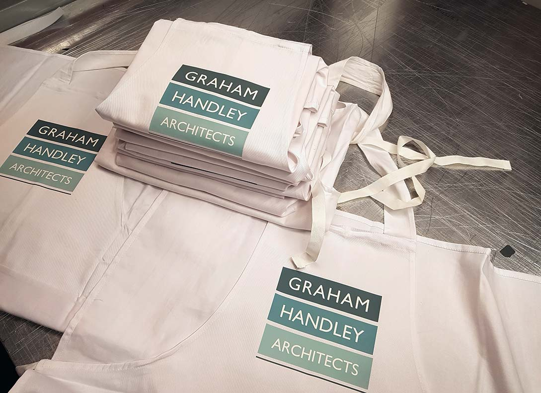 Graham Handley Architects – Branded Aprons