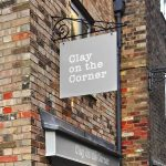 Projecting Sign | Clay On The Corner St Ives