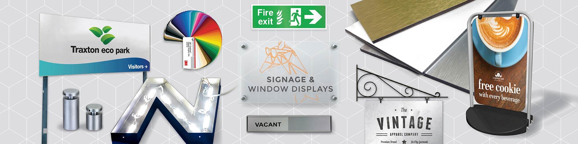 Signage & Window Displays